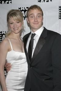 Teri Polo and Jay Mohr at the 55th ACE Eddie Awards.