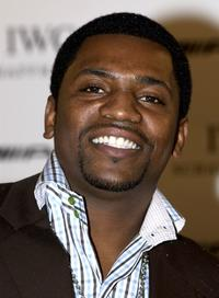 Mekhi Phifer at the cocktail party to announce the new collaberation between watch manufacturer IWC and car manufacturer Mercedes-AMG.
