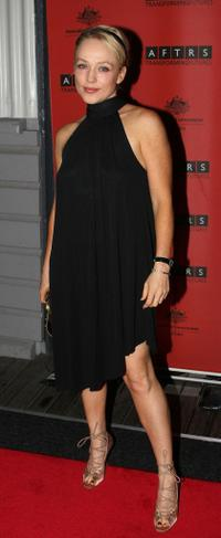 Susie Porter at the inaugural AFTRS (Australian Film Television & Radio School) Gala Event.