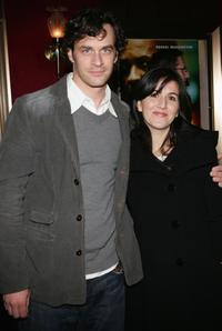 Tom Everett Scott and Jenni Scott at the world premiere of