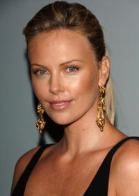 Charlize Theron at the 12th Annual Screen Actors Guild Awards.