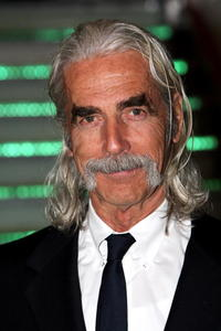 Actor Sam Elliott at the London premiere of