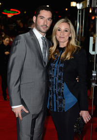 Tom Ellis and Tamsin Outhwaite at the Closing Night of