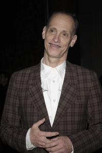 John Waters at the opening celebration of Gregory Colberts Exhibition Ashes and Snow.