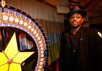 Omar Epps at the charity wheel during the FOX Fall Eco-Casino party.