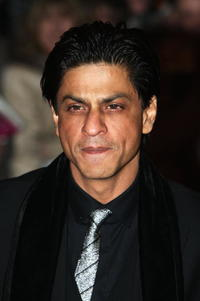 Shah Rukh Khan at the premiere of