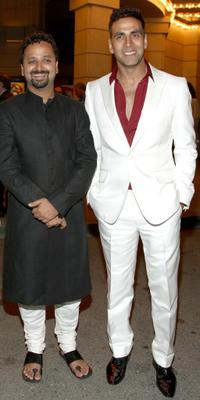 Director Nikhil Advani and Akshay Kumar at the special screening of