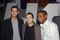 Ivan Sergei, Howard Braunstein and Dule Hill at the screening of