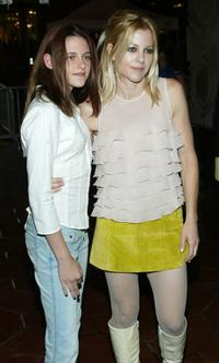 Kristen Stewart and Dana Eskelson at the California premiere of