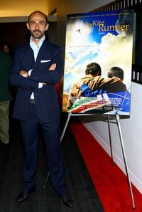 Shaun Toub at the private reception screening of