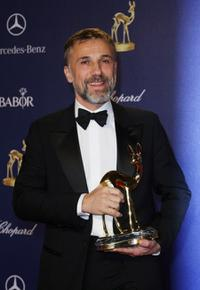 Christoph Waltz at the Bambi Awards 2009 show.