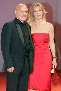 Luca Zingaretti and Margherita Buy at the premiere of