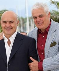 Luca Zingaretti and Marco Tullio Giordana at the photocall of