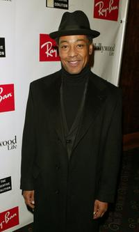 Giancarlo Esposito at the Ray Ban Vision Awards.