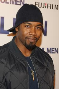 Michael Jai White at the world premiere of