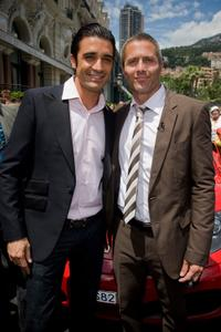 Gilles Marini and Rob Estes at the 49th TV Festival of Monte-Carlo.