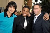 Michael Steger, Tristan Wilds and Rob Estes at the 35th Annual People's Choice Awards.