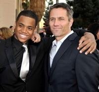 Tristan Wilds and Rob Estes at the 35th Annual People's Choice Awards.