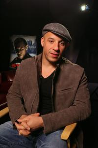 Vin Diesel at the DVD release party of