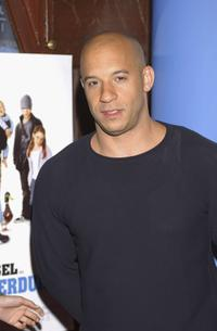 Vin Diesel at the premiere of