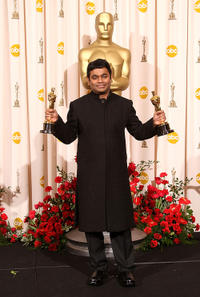 A.R. Rahman at the 81st Annual Academy Awards.