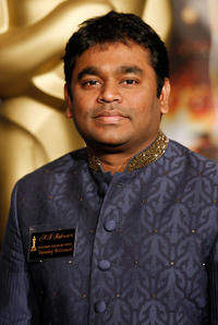 A.R. Rahman at the 2009 Oscar Nominees Luncheon.