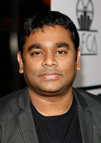 A.R. Rahman at the 34th Annual Los Angeles Film Critics Association Awards.