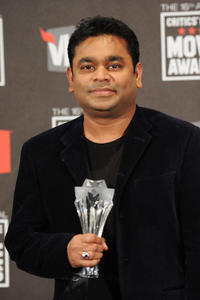 A.R. Rahman at the 16th Annual Critics' Choice Movie Awards.