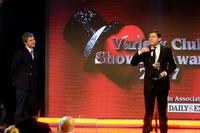 Lee Evans and Martin Freeman at the variety club showbiz awards.