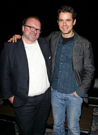 Producer Stefan Arndt and Tom Tykwer at the premiere of