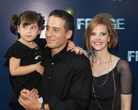 Kirk Acevedo and Kiersten Warren at the premiere of