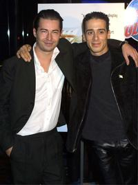Edoardo Ballerini and Kirk Acevedo at the dinner of the screening of