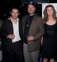 Edoardo Ballerini, Louis DiGiamo and Patty Greaney at the after party of the premiere of
