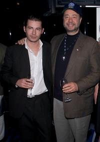 Edoardo Ballerini and Louis DiGiamo at the after party of the premiere of