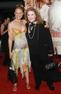 Arija Bareikis and Celia Weston at the premiere of