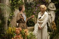 Kristin Scott Thomas as Mrs. Whittaker and Jessica Biel as Larita in
