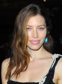 Jessica Biel at the Prada book launch cocktail.