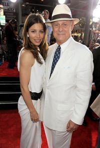 Jessica Biel and Gerald McRaney at the California premiere of