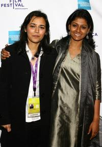 Mehreen Jabbar and Nandita Das at the premiere of