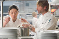 Catherine Zeta-Jones and Aaron Eckhart in