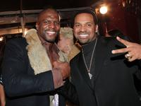 Terry Crews and Mike Epps at the premiere of