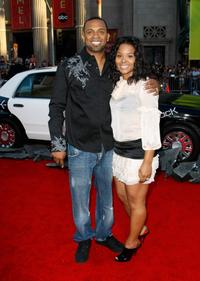 Mike Epps and Michelle Epps at the premiere of