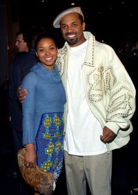Michelle and Mike Epps at the premiere of