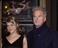 Alice and her father Trevor Eve at the premiere of