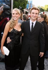 Rachel Kline and Sam Huntington at the premiere of