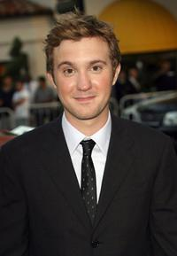 Sam Huntington at the premiere of