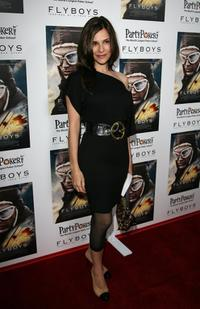 Sarah Lassez at the special screening of