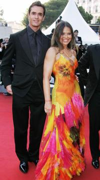 Rupert Everett and Ornella Muti at the 2004 Cannes Film Festival for the official projection of