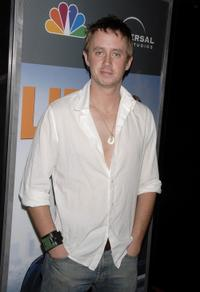 Chad Lindberg at the premiere of
