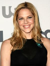 Mary McCormack at the USA Network Upfront.